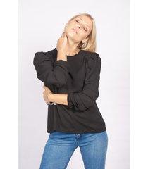 blusa negra skanda jacinta