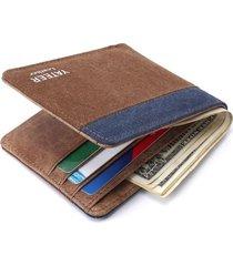 billetera hombre #1239- color marron