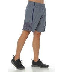 pantaloneta deportiva, color gris claro para hombre