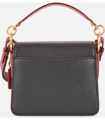 coach women's stardust city skyline beat shoulder bag 18 - tan brown rust