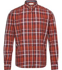 regular colo skjorta casual orange tom tailor
