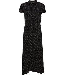 raisa dress knälång klänning svart storm & marie