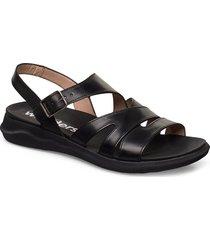 c-5621 shoes summer shoes flat sandals svart wonders