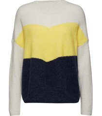 herle knit gebreide trui multi/patroon just female