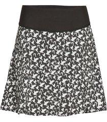 pwrshape flight skirt kort kjol svart puma golf