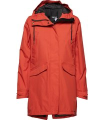 rain jkt from the sea padded w parkas rock orange tretorn