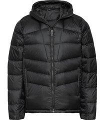 transition down hoodie m jasje zwart salomon