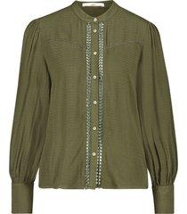 aaiko tamia 518 blouses army green