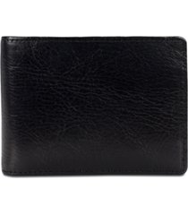 patricia nash men's leather money clip wallet