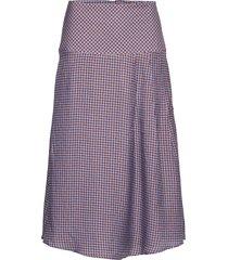 patti knälång kjol lila custommade