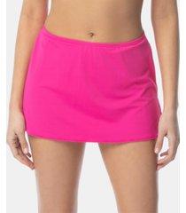 coco reef solid slit swim skirt women's swimsuit