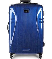 tumi medium trip packing suitcase - blue