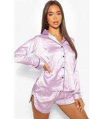 mix & match pyjama blouse, lila