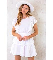 marant linnen dress wit