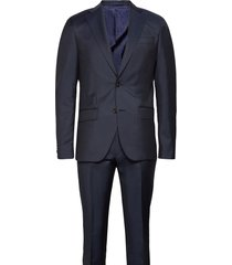 prunella mohair - star napoli-craig kostym blå sand