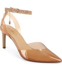 xoxo women's luci translucent dress heel women's shoes