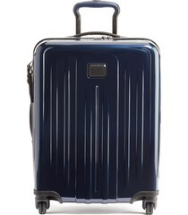 men's tumi v4 collection 22-inch continental expandable spinner carry-on -