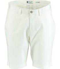 basefield korte broek bermuda wit 219014347/100