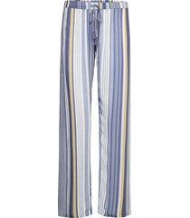 long pants pyjamasbyxor mjukisbyxor blå pj salvage