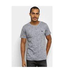 camiseta gajang paisley masculina