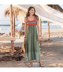 sundance catalog women's under the sun dress in jungleflrl petite 8