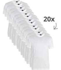alan red 20-pack t-shirts virginia ronde hals wit