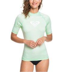 women's whole hearted short sleeve rash guard women's swimsuit