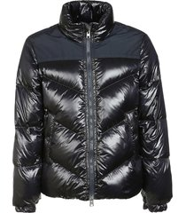 woolrich logo arctic padded jacket
