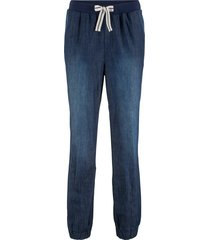 pantaloni comfort con laccetto a righe (nero) - bpc bonprix collection