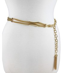 fashion focus accessories mesh casted x station chain belt