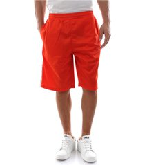 fila 687009 long shorts shorts and bermudas men orange