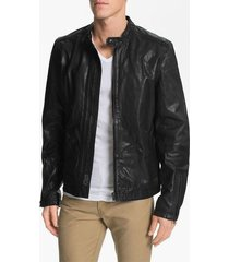 mens motorcycle leather jacket, black leather jacket men's, leather jacket men