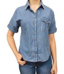 camisa abedul azul ragged pf51110922