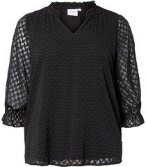 blus jrniza 3/4 sleeve blouse