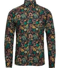8762 - iver 2 skjorta casual multi/mönstrad sand
