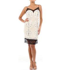 korte jurk twin set 201tp2463