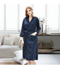 inicio primavera verano ropa de dormir delgada pijamas de kimono ropa