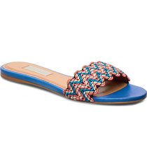 alaia, 838 alaia sandal shoes summer shoes flat sandals multi/mönstrad stine goya
