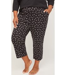 hearts collide cotton sleep capri