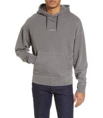 men's topman berlin graphic oversize hooded sweatshirt