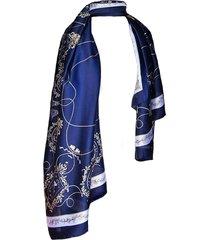 pañuelo clásico calesita azul marino viva felicia