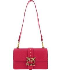 borsa donna a spalla shopping in pelle love classic