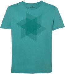camiseta dudalina manga curta decote careca wind masculina (verde claro, gg)