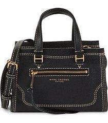 mini cruiser leather satchel