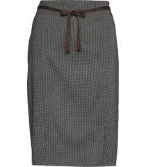 skirt short woven fa knälång kjol beige gerry weber