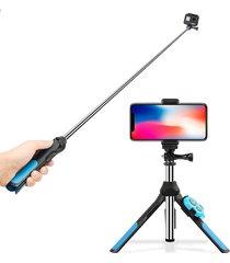 plegable bluetooth control remoto selfie stick monopod para gopro
