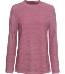 maglione  a coste (viola) - bodyflirt
