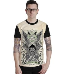 camiseta lucinoze manga curta 117 preto