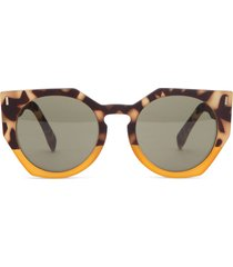 matt & nat mule sunglasses, leopard mix