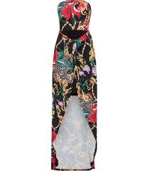 abito a fascia fantasia (nero) - bodyflirt boutique